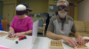 blindfolded exercise